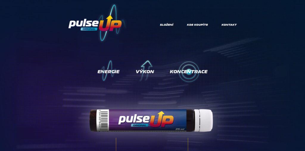 PulseUp mikrostránka